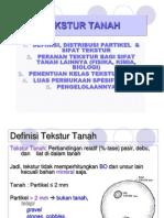 2- TEKSTUR TANAH