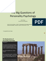 Big Questions of Personality Mayer Slide Show