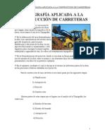 TOPOGRAFÍA APLICADA A LA CONSTRUCCIÓN DE CARRETERAS