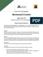 Concorso Coreografico Movimenti Creativi Alias Res 09