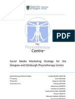 Marketing Plan for Edinburgh and Glasgow Physiotherapy Centre