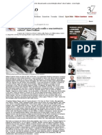 """_O bom escritor não pede auxílio a uma instituição cultural"""", disse Faulkner - Jornal Opção"""