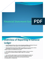 Financial Statement Generator