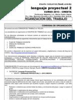 LP2 CRESTA ORGANIZACIÓN 2013