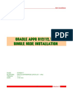 Oracle Apps R12 Installation