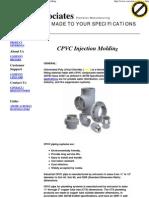 CPVC Injection Molding, PVC.