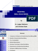 Small Scale Mining