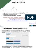 Manual Wedubox Creadores Contenido