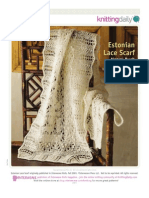 Lace Stole Estonian