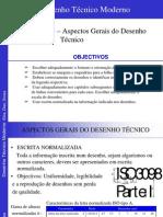 Moderno desenho pdf tecnico