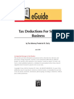 Tax Deductions for Small Business (Nolo)