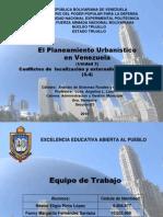 El Planeamiento Urbanistico en Venezuela 3.4