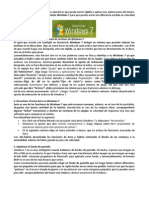 Optimisar y Acelerar W7