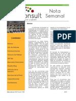 Nota Semanal 11-05-13