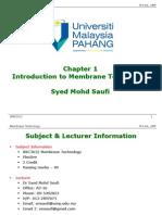 01 Chap 1 Intro to Membrane