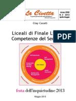 Liceali di Finale Ligure e Competenze del Secolo XXI