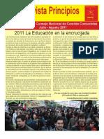 Revista Principios Julio-Agosto 2011