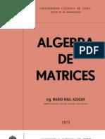 Algebra de Matrices - Mario Azocar