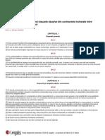 Legea 193 2000 Clauze Abuzive Contracte Intre Profesionisti Si Consumatori Republicata 6 August 2012 Legalis de Beck