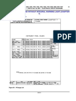 International Body &Chassis Wiring Diagrams and Info | Anti Lock Braking  System | TruckScribd