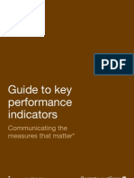 Guide to key performance indicators