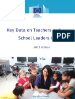 Key Data on Teachers and School Leaders in Europe 2013