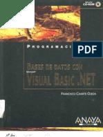 (ANAYA) Bases de Datos Con Visual Basic.net