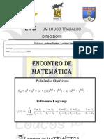 AULA N03 _Polinomios Simetricos (Prof. Luciano Santos_Judson Santos)