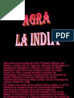 Agra La India Milespowerpoints.com