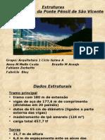 PONTE PÊNSIL SÃO VICENTE TRABALHO PPT
