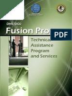 DHS/DOJ Fusion Process