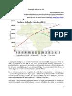 A população do Brasil em 2100