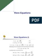 18 Wave Equations