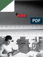 Brochure Pardini 2012