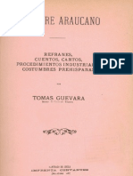 FOLKLORE ARAUCANO (1911) Tomas Guevara.