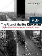 EBC the Rise of the Ku Klux Klan Right Wing Movements and National Politics Social Movements Protest and Contention