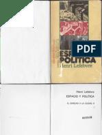 78824503 Henri Lefebvre Espacio y Politica