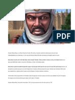 Emperor Mansa Musa I