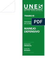 Programa Manejo Defensivo