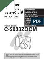 Olympus C-2020Z Manual