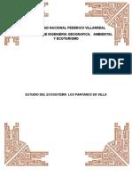Estudio Del Ecosistema Los Pantanos de Villa