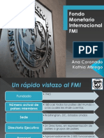 Presentacion Fondo Monetario Internacional