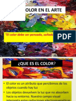 El Color en El Arte Final