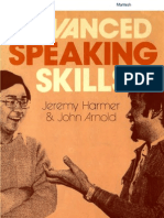 Advanced Speaking Skills