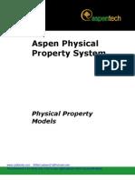 Aspen Phys Prop Models V7_0-Ref
