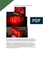 62254277 Membuat Sendiri Jam Digital Ukuran Besar Dengan Cara Mudah Dan Sederhana