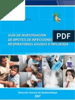 Guia de Investigacion de Brotes de Infecciones Respiratorias Agudas E Influenza
