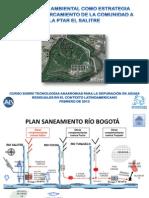 PTAR El Salitre. Educación ambiental como estrategia para el acercamiento de la comunidad a la PTAR El Salitre