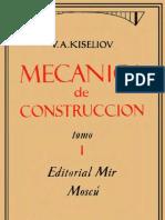Resistenca de Materiales- Kiseliov- Mecanica de Construccion- Tomo1- Mir