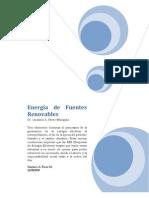 Energía de fuentes renovables